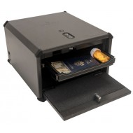 Liberty HDX-350 Accurate Biometric Pistol Safe USB Port,Sliding Shelf